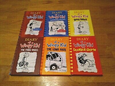Diary Of A Wimpy Kid - 6 Children's Hard Cover Books