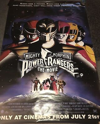 CLASSIC 90s MOVIE POSTERS/Power Rangers 1995