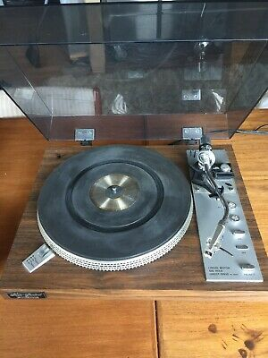 Vtg Fisher MT-6225 Direct Drive Stereo Turntable Record Player As Is For Repair