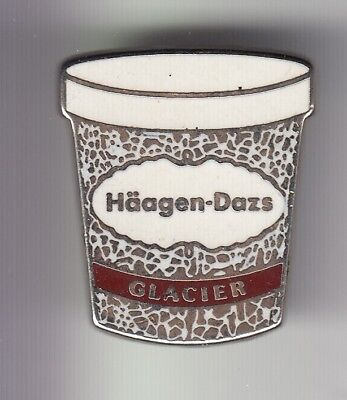 Rare Pins Pin's .. Aliment Food Glace Ice Cream Gelati Haagen Dazs France ~Dz