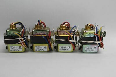 4x NEW HONEYWELL AT150F 1022 Transformer 24VAC With Circuit Breaker 240V