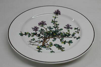 VILLEROY & BOCH Botanica Salad Plate Thymus No Root Purple 8 1/4 Inches DF
