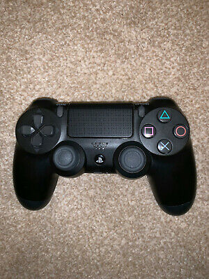 Sony Playstation 4 wireless Controller PS4 DualShock 4 Black NO RESERVE!