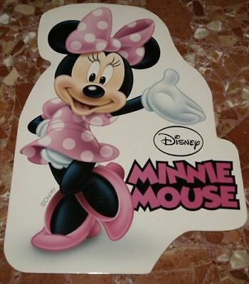 DISNEY MINNIE MOUSE SPANISH PROMO DISPLAY CARDBOARD 53X35cm