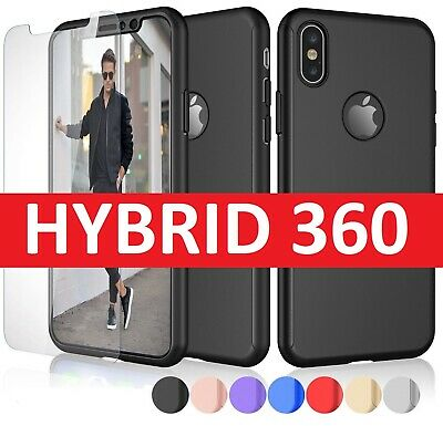 Case for iPhone 8 7 6S 6 Plus XS MAX XR Cover New ShockProof 360 Hybrid Armour