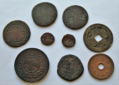 Very Old Chinese Coins (Dynasty? Ancient?) MUST SEE Antique Collection Lot