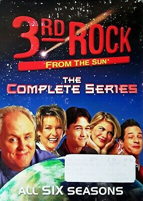 3Rd Rock From The Sun - Complete Series - All Six Seasons - (17) Dvd Set