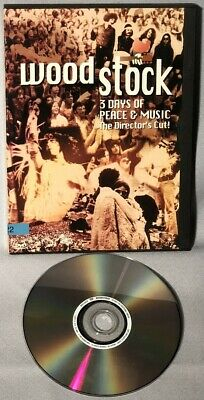 DVD Woodstock: Three Days Of Peace And Music (1994, DIRECTOR'S CUT)