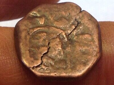 Spanish Pirate Coin-Treasure Chest Era King Phillip IV 1600's Lion Castle *99