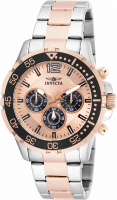Invicta Specialty 16289 Men's Round Analog Rose Gold Tone Chronograph Watch
