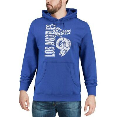 c8d89a85 MITCHELL & NESS Los Angeles Rams Royal Winning Team Pullover Hoodie