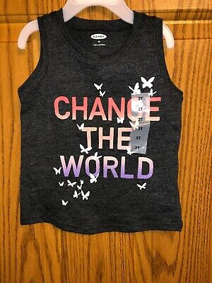 NWT Old Navy Brand Girls Top Sz 2T