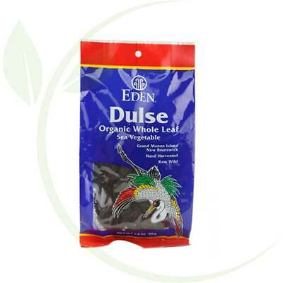 Eden Foods - Dulse Organic Whole Leaf Sea Vegetable - 1.4 oz