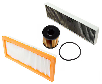 Engine Air Oil AC Cabin Filter Carbon Mini Cooper Countryman Paceman 1.6L Turbo