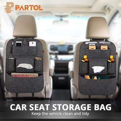 Car Seat Back Bag Organizer Storage Multi-Pocketi for Pad Phone Holder Accessory
