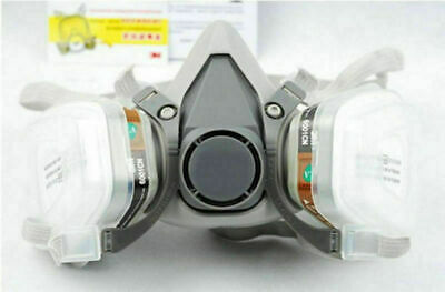 New Safety Painting Spraying For 3M 6200 N95 Half Face Dust Gas Mask Respirator