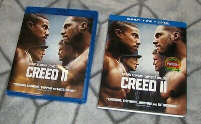 CREED II (Blu-ray & DVD 2018) Michael B. Jordan / Stallone (No Digital Copy)