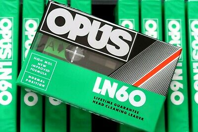 Opus Ud 60 Normal Position Type I Blank Audio Cassette - Aus