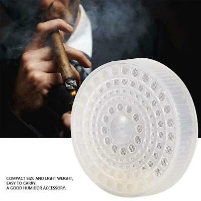 Plastic Round Shape Tobacco Herb Smoke Cigar Humidifier Cigar Humidor Accessory