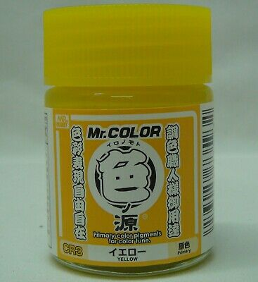 MR. HOBBY CR3 Primary Color Pigments Yellow 18ml (100ml = 18,83 EUR)