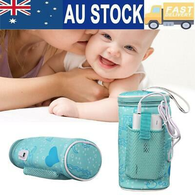 Baby Outdoor Bottle Thermostat Bag Car USB Heating Intelligent Warm Insulation