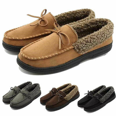 5f2759552e6 Men s Suede Moccasin Loafers Casual Driving Office Comfortable Flats Shoes  New