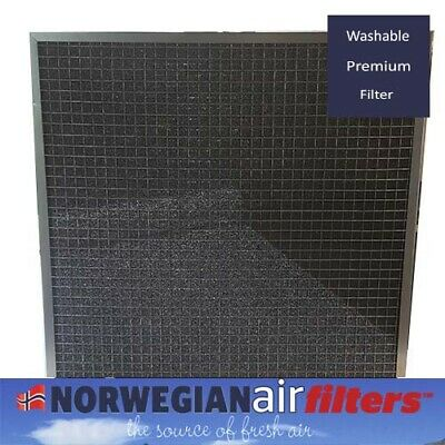 (2 pack) Norwegian Air Filter - 20x20x1 - Washable Premium Filters
