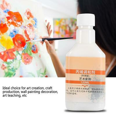 Artists Art Pouring Fluid Effect Medium Acrylic Paint 120ml Bottle Good Quality
