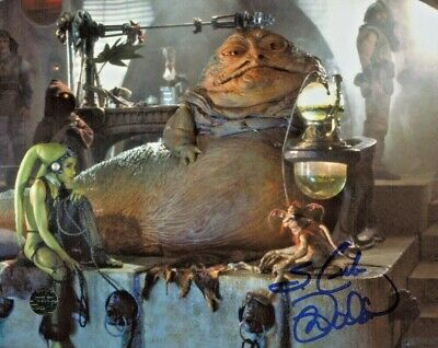 "Mark Dodson Signed Star Wars: Return of the Jedi 8x10 Photo Inscribed ""S. Crumb"""