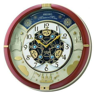 Seiko Musical Melodies in Motion Marionette Clock  QXM378B Our Price £139.95