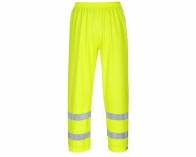 Portwest Sealtex Flame Resist HI VIS Trouser Pant Safety Workwear Yellow FR43