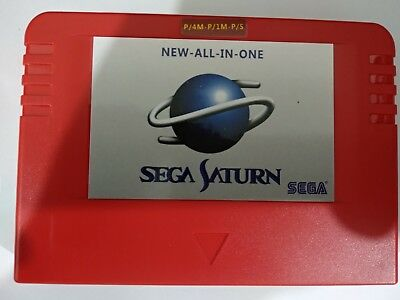 Sega Pseudo Saturn All in one RAM backup Cartriage Console Game Japan Casing