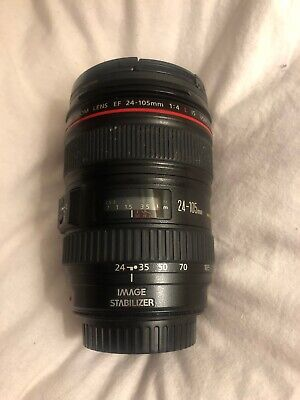 Canon EF 24-105mm f/4 I IS L USM Lens Generation 1 Lens
