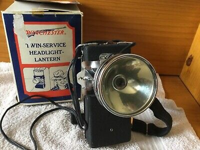 Lampe frontale winchester vintage