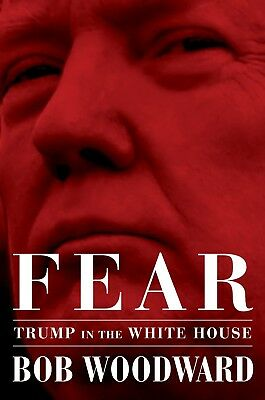 Fear Trump in the white house by Bob Woodward and fire and fury 2 audiobooks