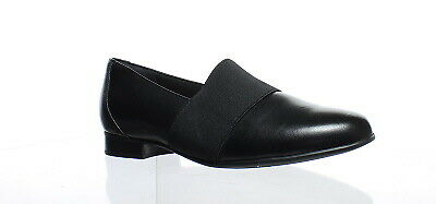 8368df2923e85 CLARKS WOMENS UN Blush Lo Black Leather Heels Size 6.5 (142242 ...