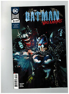 THE BATMAN WHO LAUGHS #3  1st Printing                          / 2019 DC Comics