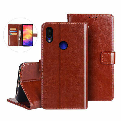 For Xiaomi Redmi Note 7 6 5 Pro 4X Magnetic Leather Wallet Flip Stand Case Cover
