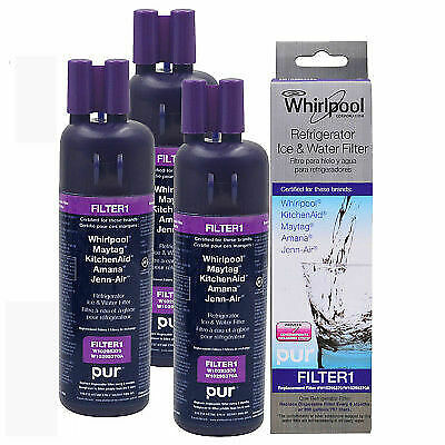 3Pack Genuine EveryDrop 1 EDR1RXD1 Whirlpool W10295370A 46-9930 Water Filter
