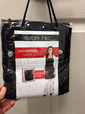 Salon Chic Convertible Hair Stylist Apron / Tool Belt -  One size - Black - 4039