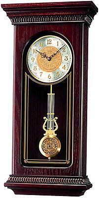 Seiko Regulator Style Wall Clock QXH008B RRP £275.00 Our Price £219.95