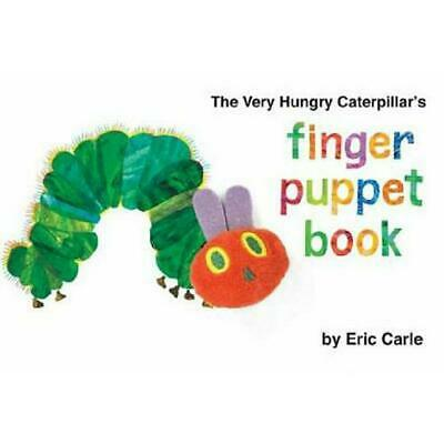 The Very Hungry Caterpillar's Finger Puppet Book by Eric Carle (English) Board B