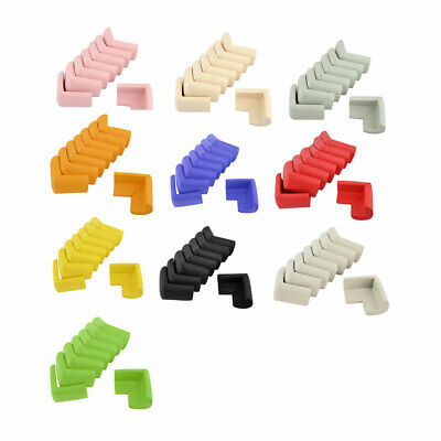 Dormitory Drawer Table Desk Foam Rubber Corner Edge Cover Pad Cushion 8 Pcs