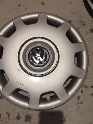 "1-VW PASSAT GOLF 15"" HUBCAP WHEEL COVER Wheelcover 1998 1999 2000 2001 Original"