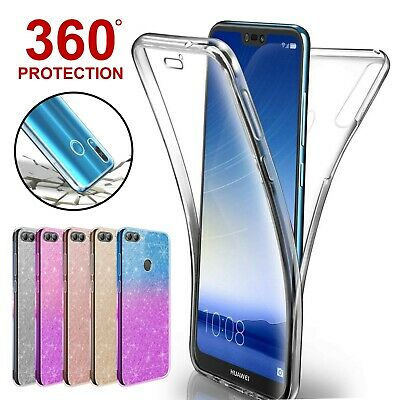 Case For Huawei P20 Pro Mate Lite P Smart Cover 360 Hybrid Shockproof Silicone