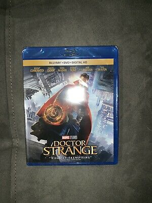 "Brand New ""Doctor Strange Marvel Blue Ray + DVD + Digital Copy"""