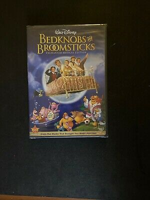 Bedknobs and Broomsticks (DVD, 2009, Enchanted Musical Edition)