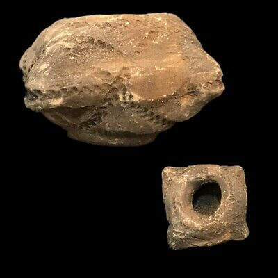 Ultra Rare Stone Age Ancient Neolithic Pot Artifact 4500Bc (2)