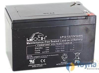 Leoch LP12-12 12V 12Ah Sealed Batterie