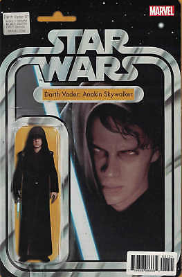 Star Wars Darth Vader #1 Anakin Skywalker Action Figure Variant Marvel 2017